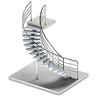 Produse: scari metalice