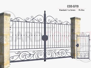 Modele porti fier forjat gf19