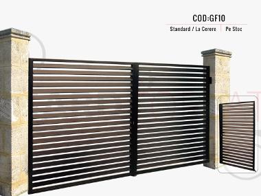 Model poarta fier forjat gf10