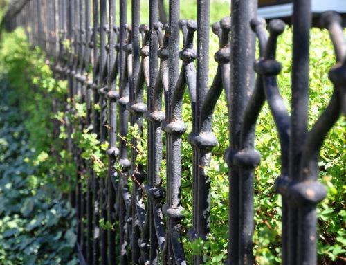 Intretinerea unui gard din fier forjat