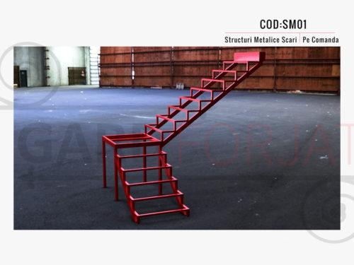 Structura metalica scara SM 01
