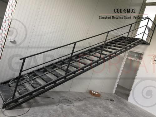 Structura metalica scara SM 02