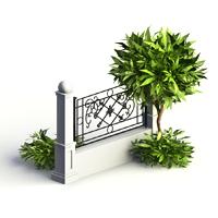 Garduri metalice moderne