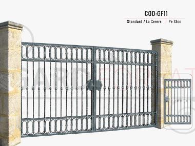 Modele porti fier forjat gf11