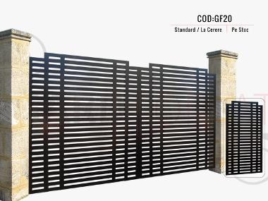 Modele porti metalice moderne gf20