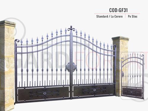 Poarta fier forjat GF31